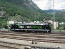 RTS 185 570-9 in Brig beim Umsetzen an den Zug