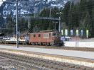 BLS Re 4/4 174 an der Autorampe in Kandersteg