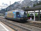 BLS Re 465 008-1 auf Leerfahrt in Kandersteg Gleis 2