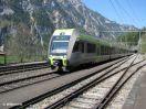 BLS RABe 535 106 mit BLS RABe 535 XXX als RE Lötschberger durchfahrend in Blausee-Mitholz nach Bern
