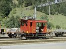 BLS Schienentraktor Te 13 in Kandersteg