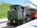 RB Dampflok H 2/3 Nr. 17 in Rigi Kulm