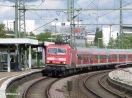 143 900-9 vor der RB 39915 Heilbronn - Stuttgart durchfahrend in Stuttgart-Feuerbach