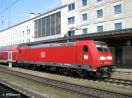 146 207 in Ulm Hbf am RB 19250 nach Göppingen