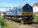Rush Rail T66 402 abgestellt im Bf Lysekil