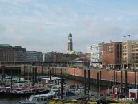 Hamburg, Hauptkirche Sankt Michaelis (vom Kehrwieder aus fotografiert)
