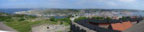 Carlstens Fästning - Blick auf Marstrand von der Steinschmiede